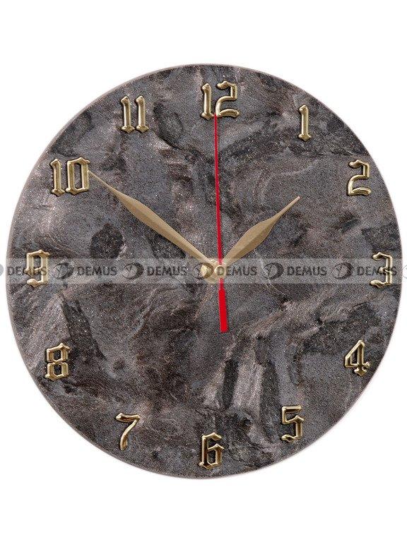 Zegar ścienny z kamienia
