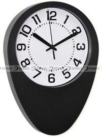 czarny czytelny zegar