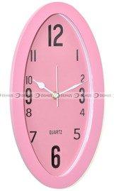 różowy zegar ścienny
